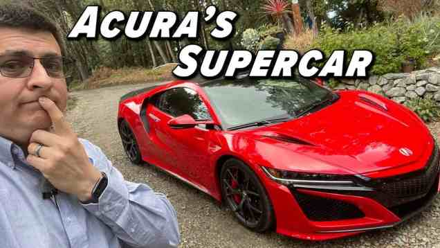 NSX: The Supercar With Honda Reliability
