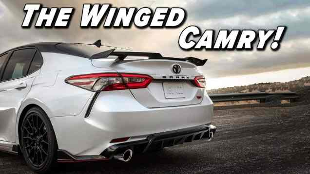 Re-Thinking The Camry's Image | 2021 Toyota Camry TRD