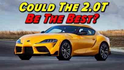 The Controversial Supra   Toyota Supra 2.0T