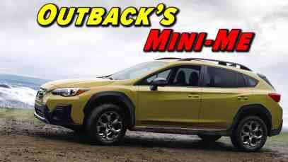 Subaru Leads The Pack | 2021 Subaru Crosstrek Sport