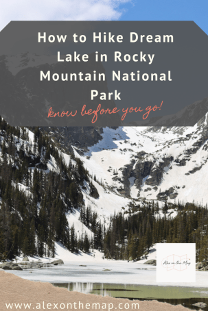 The Ultimate Guide to Hiking Dream Lake, Colorado | Alex on the Map