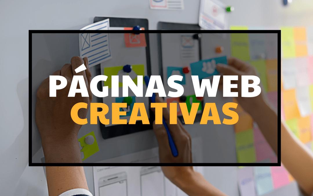 Páginas web CREATIVAS en apenas unos minutos