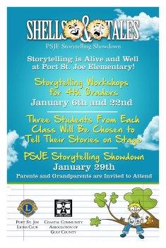 Shells & Tales School Poster