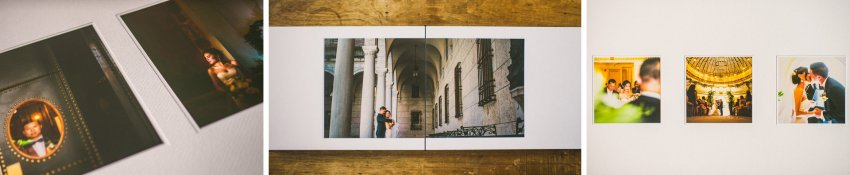Wedding album fine art page layouts