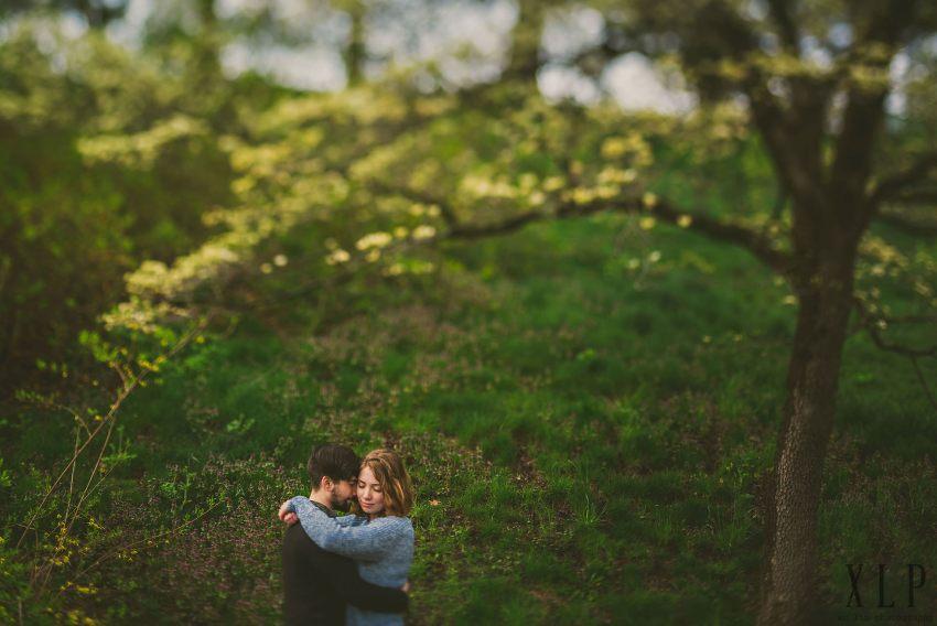 Arnold Arboretum Lilac Engagement Photos (2)