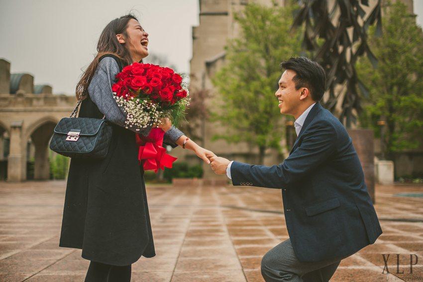 Spring proposal at Boston University