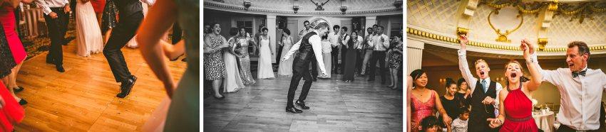 wedding guests dancing like michael jackson moonwalk