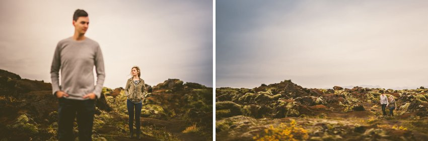 engagement portraits on Ring Road in Iceland