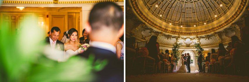 Lenox hotel wedding ceremony