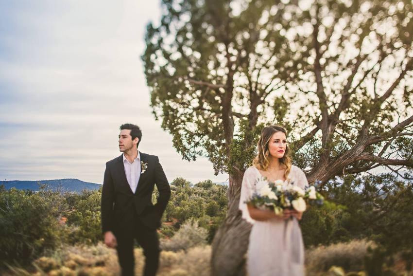 Sedona wedding portrait