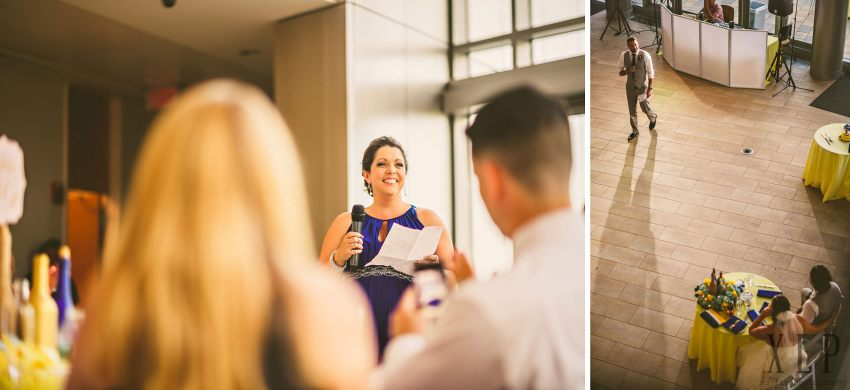wedding speeches at Roger Williams University