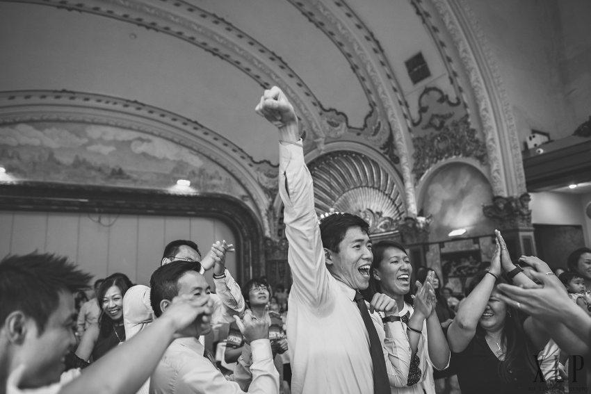 Chinese wedding dancing