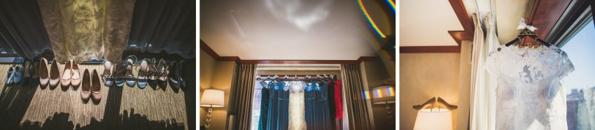 The Bostonian Hotel wedding details