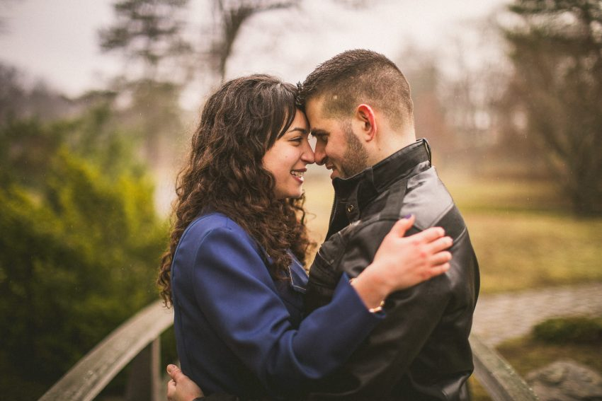 Intimate Providence engagement