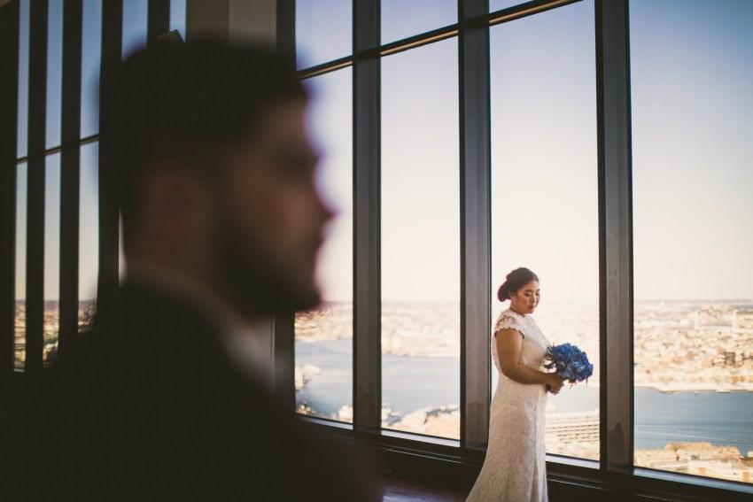 Romantic State Room wedding portraiture