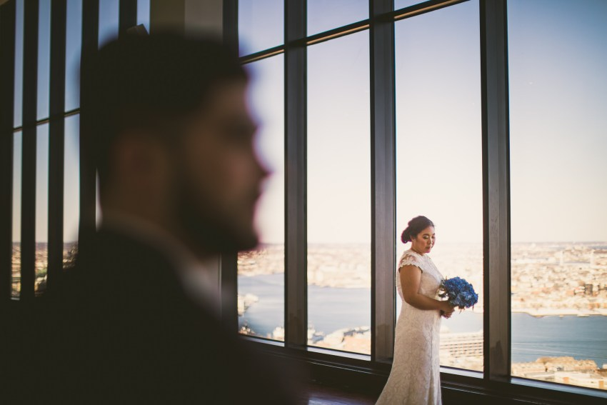 Romantic State Room wedding portraiture