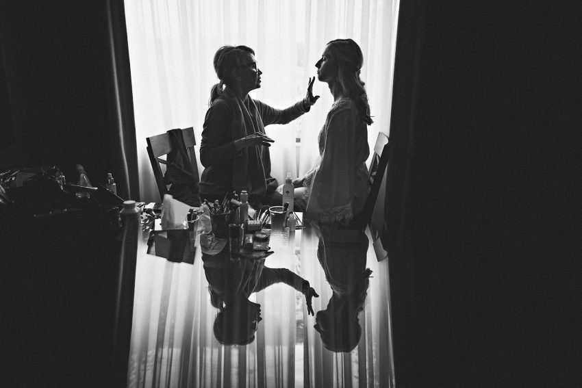 New York wedding bridal preparation