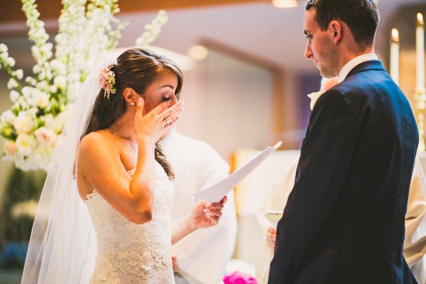 Emotional New England wedding photography