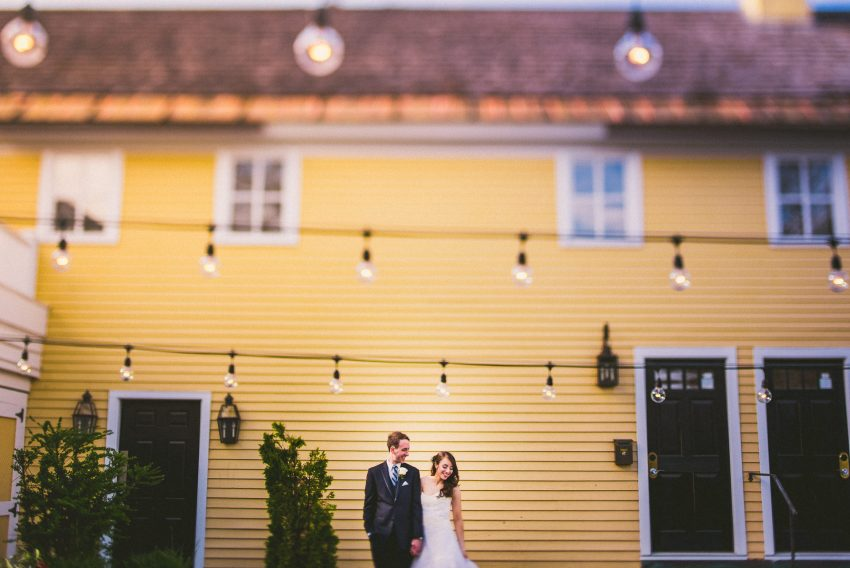 Artistic Bedford wedding