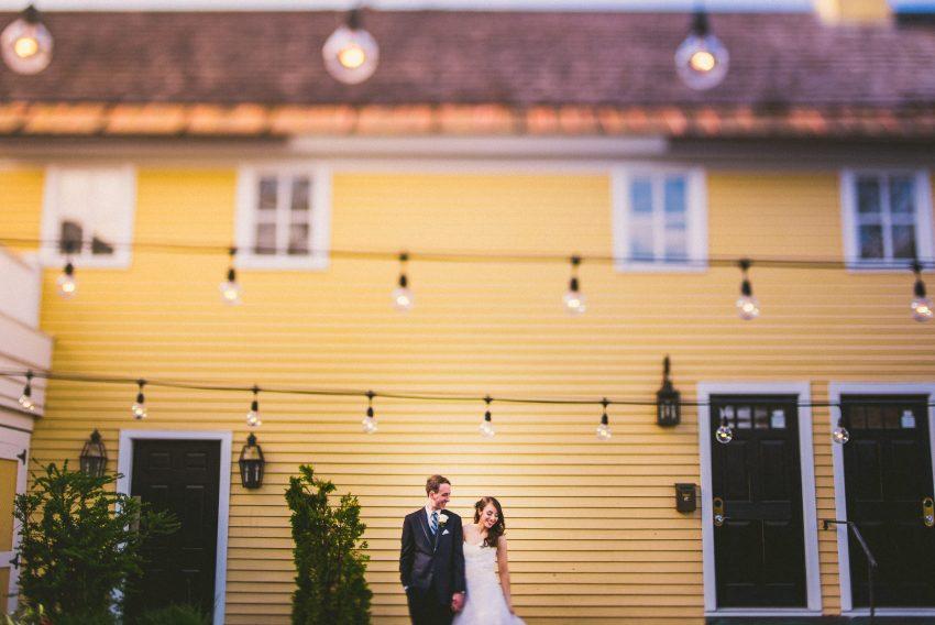 Artistic Bedford wedding