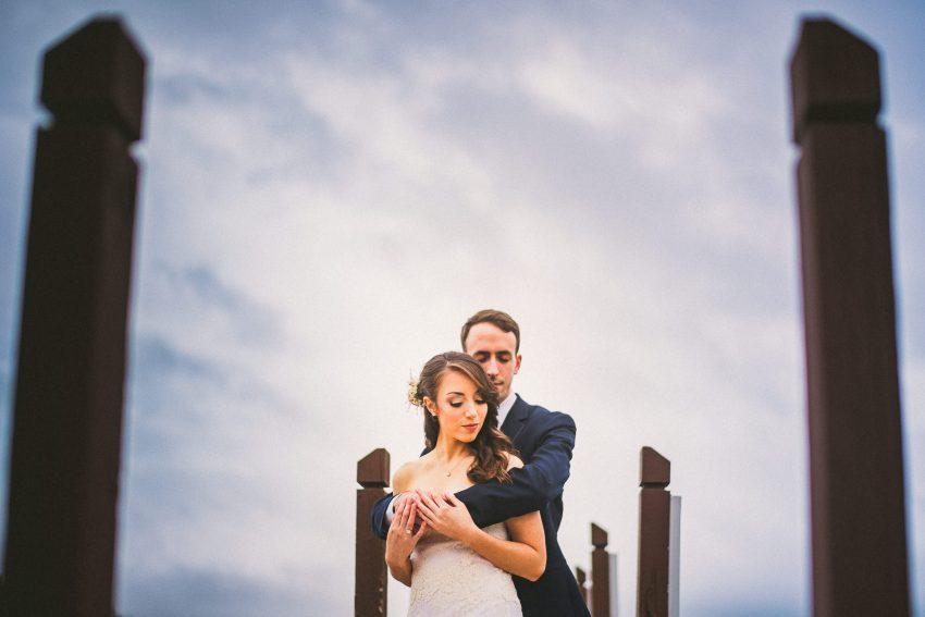 Rainy day Laconia wedding portraits