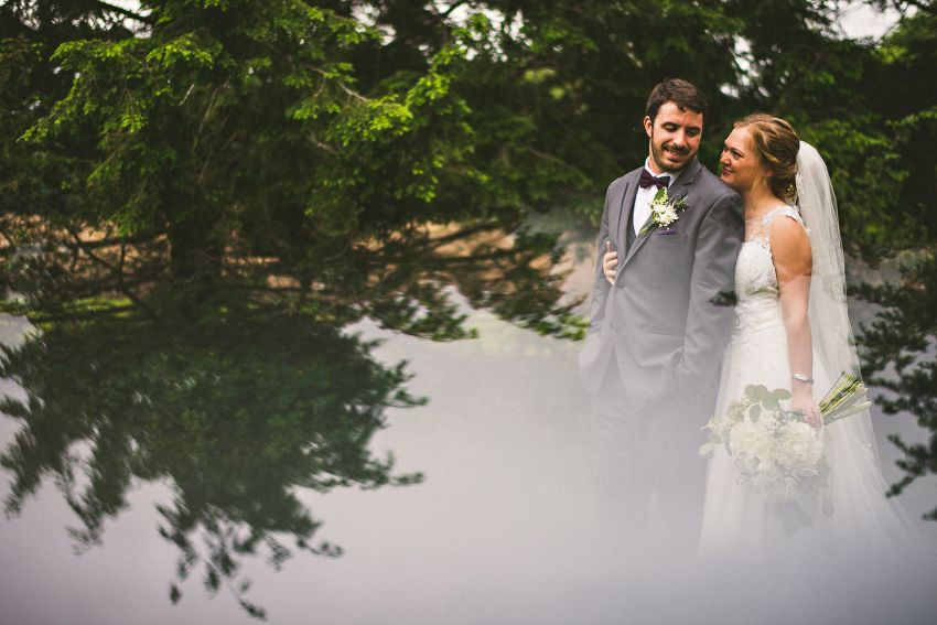 Creative camp wedding photography
