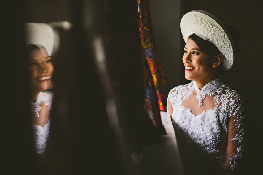 Vietnamese bride wedding portrait