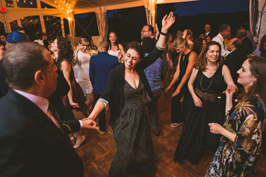 Berkshires wedding guests