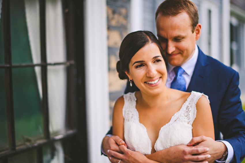 Intimate Codman Estate wedding photography