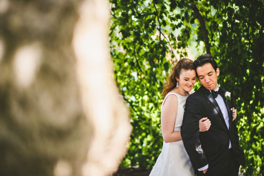 Romantic Boston Public Garden wedding pictures