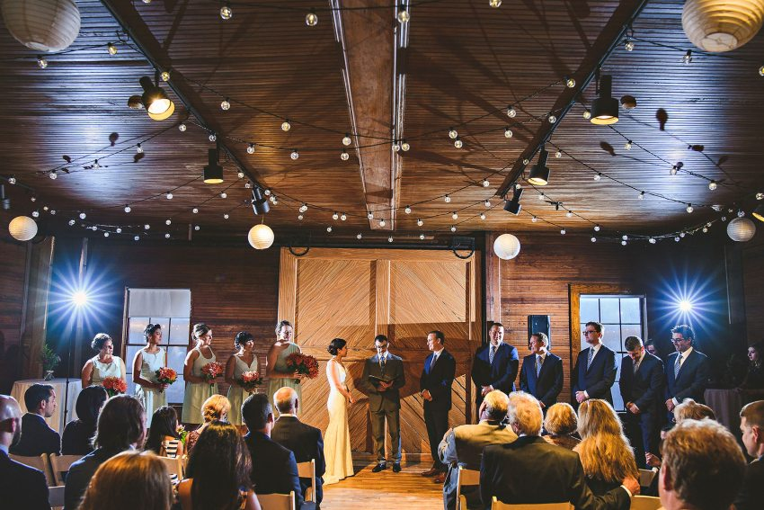 Codman Estate Carriage House ceremony