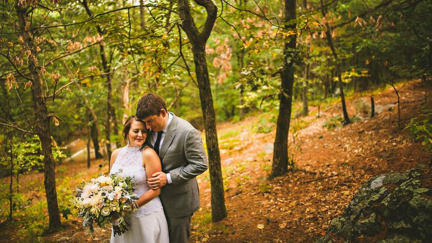 Prospect Park Hill wedding portraiture
