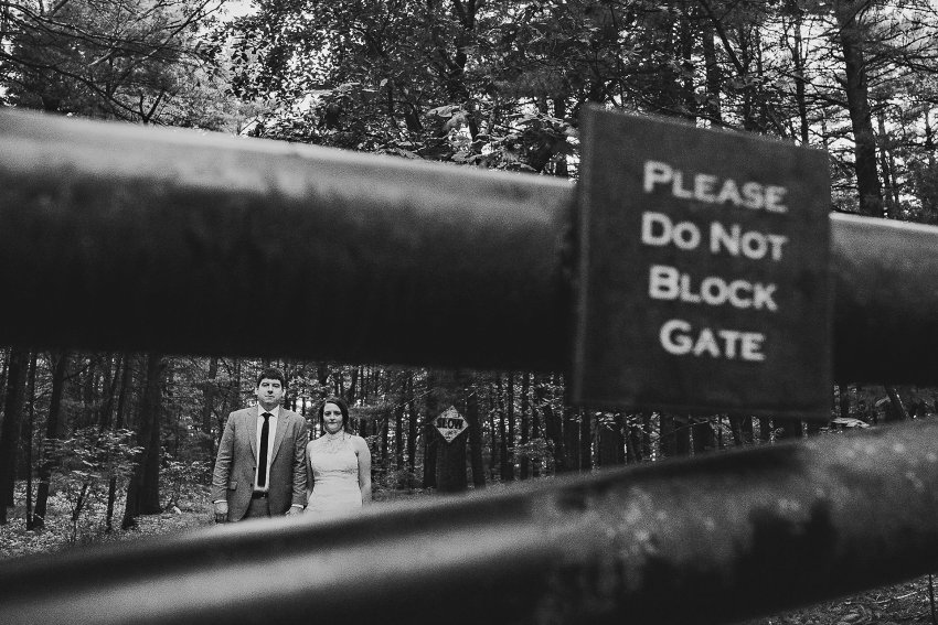 Artistic Prospect Park Wedding photo