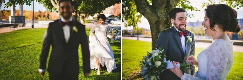 Arms Park wedding day first look