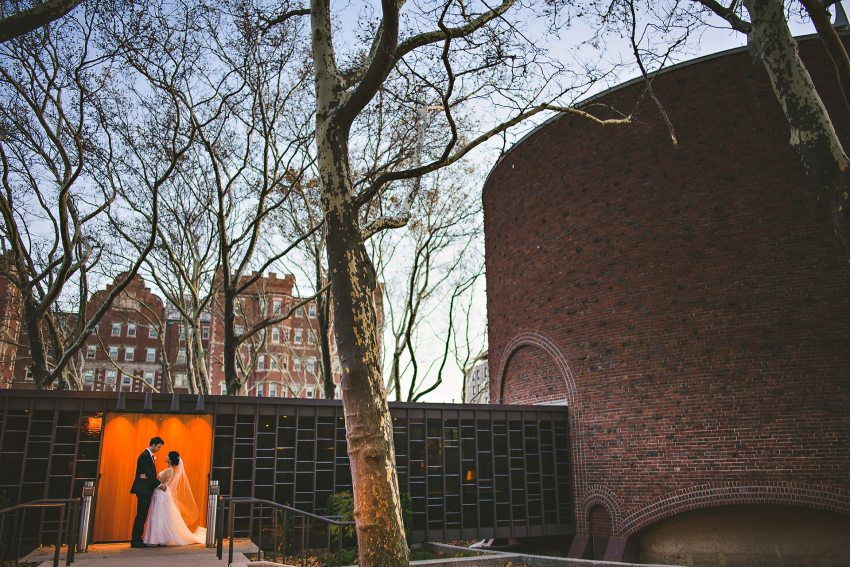 Saarinen MIT chapel wedding photography