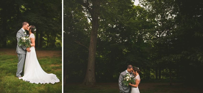 Romantic wedding portraits in Connecticut
