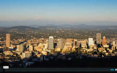 Mount Hood Sunset – Portland, Oregon
