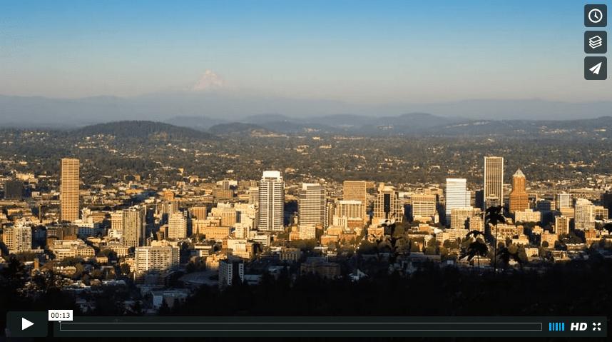 Mount Hood Sunset – Portland, Oregon