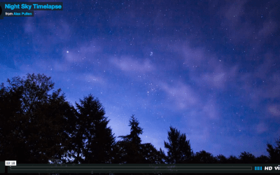 Night Sky Time Lapse