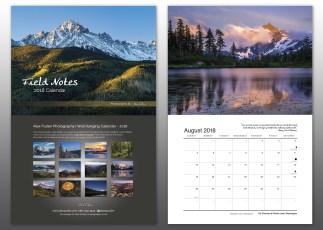 Alex Pullen 2018 Calendar preview