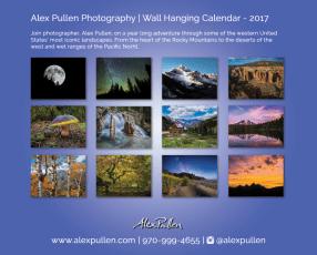 Alex Pullen Photography Calendar 2017