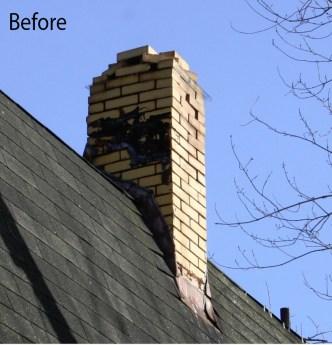 upshaw chimney 2 before