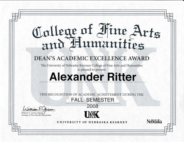 alex-ritter-deans-academic-excellence-award-fall-2008