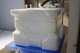 3D Printed Companion Cube