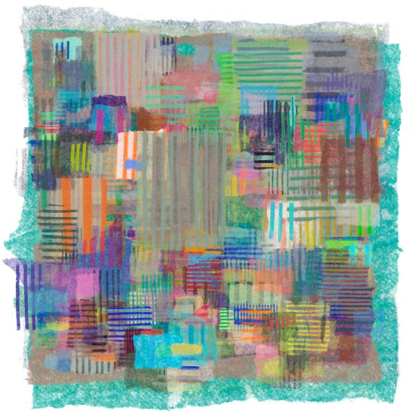 Image 11 of the development of ApeiroPattern generative art collection A Scheme Not Of This World by Alex Russell