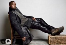 Coat, $3,100 by Bottega Veneta - Boots $770 by Bottega Veneta