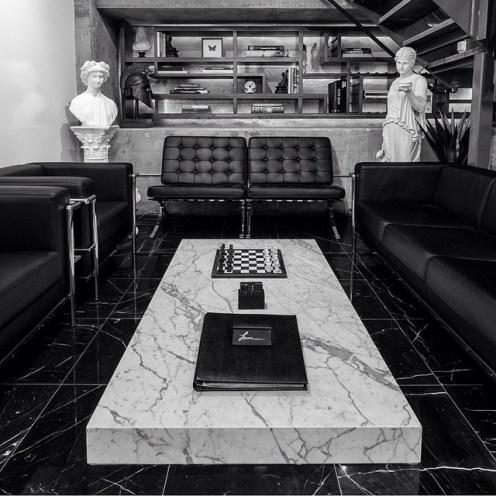 Jon Cha's Studio - Clean and simple. Another peek into the studio...