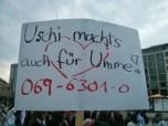 Uschi machts auch für Umme! 069-6301-0
