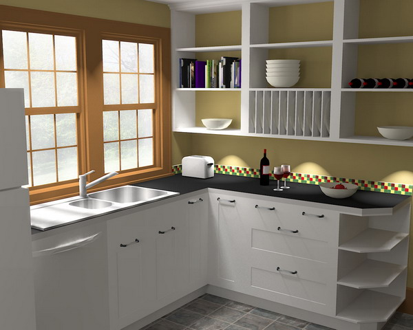Rendering sketchup models with kerkythea by as Kitchen design rendering software
