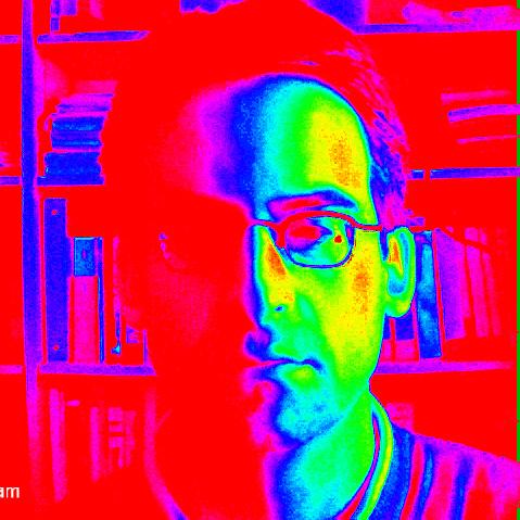 Me in false color IR